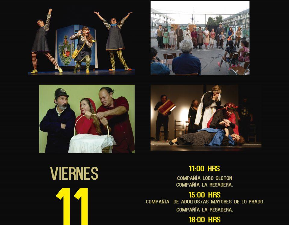 afiche dia de teatro IMP
