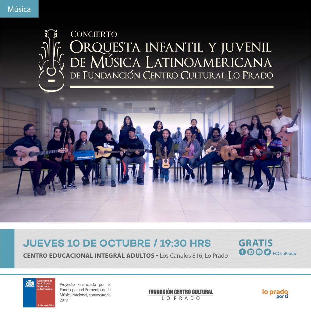 Concierto Orquesta Latinoamericana