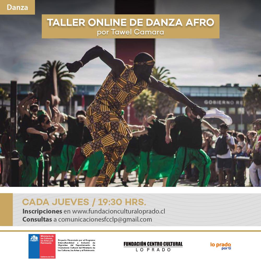 Afiche Danza Afro 1