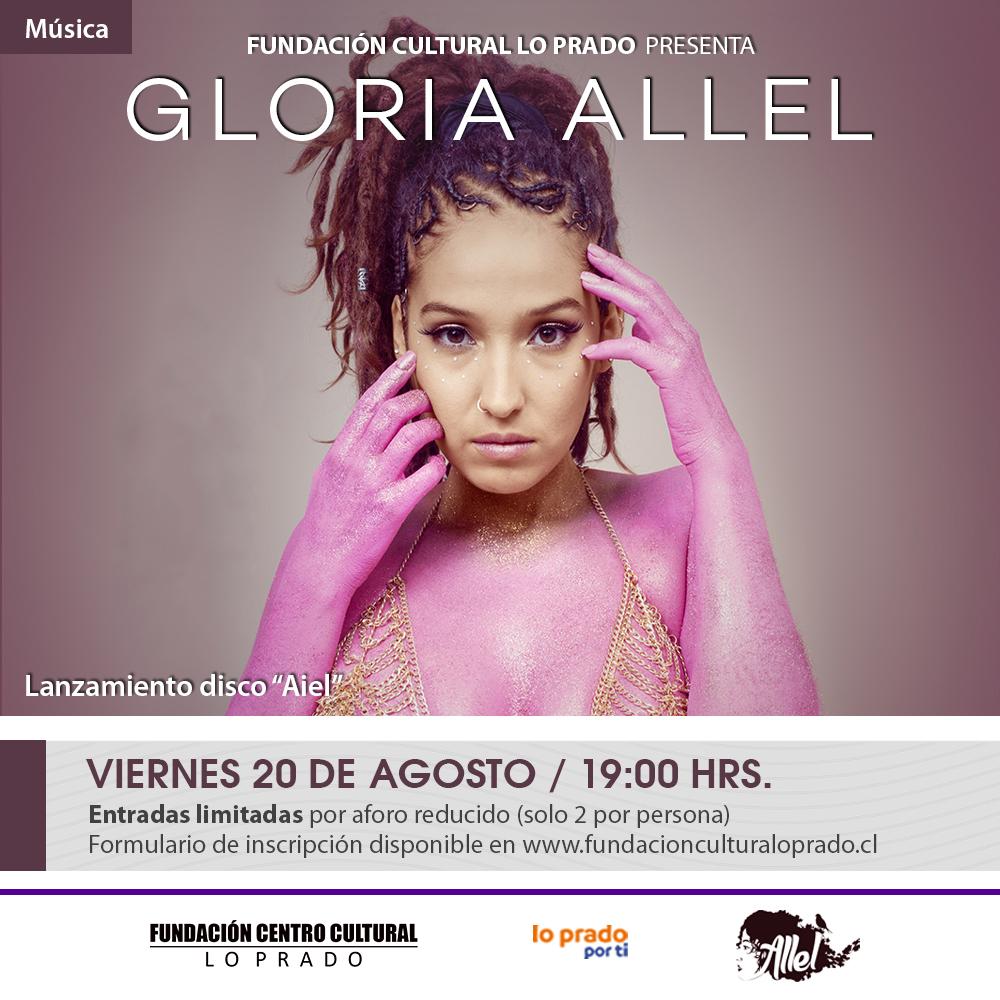 Afiche Gloria Allel