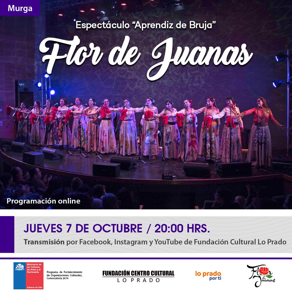 Afiche Flor de Juanas 2